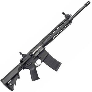 "LWRC M6 AR-15 5.56 NATO Semi Auto Rifle, 16"" Spiral Fluted Barrel 30 Rounds"