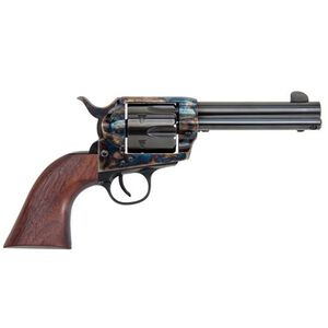 """Traditions Frontier Series 1873 Single Action Revolver .45 Colt 4.75"""" Barrel 6 Rounds Case Hardened Finish Walnut Grips"""