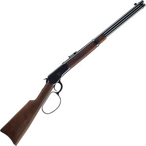 "Winchester Model 1892 Large Loop Carbine .357 Mag Lever Action Rifle 20"" Barrel 10 Rounds Walnut Stock Blued"