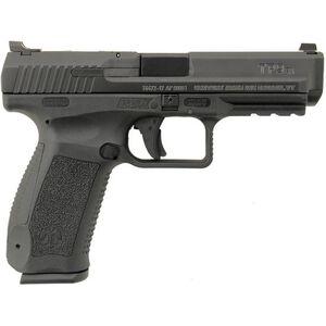 "Canik TP9SA Mod2 9mm Luger Semi Auto Pistol 4.46"" Match Grade Barrel 18 Rounds Warren Tactical Sights Polymer Frame Matte Black Finish"