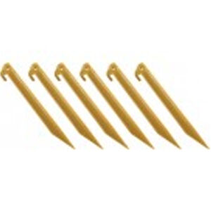 """Coleman 9"""" ABS Tent Stakes Yellow"""