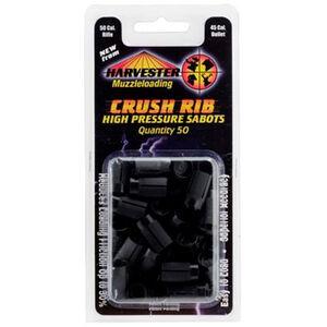 Harvester Muzzleloading .50 Caliber Crushed Rib Sabot For .451-.452 Caliber Projectile 50 Count H15045BR