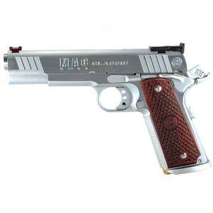 "MAC Classic 1911 Government Semi Automatic Pistol .45 ACP 5""Barrel 8 Round Capacity Hardwood Grips Hard Chrome Finish M19CL45C"