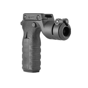 Mission First Tactical REACT Torch Flashlight Mount And Vertical Grip Polymer Black RTG