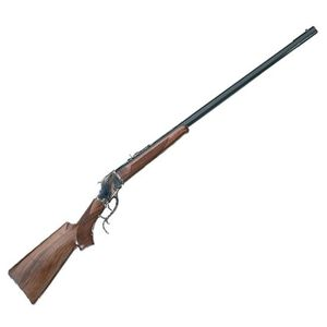 """Taylor's & Co Pedersoli High Wall Sporter Rifle .45-70 Govt 32"""" Barrel 1 Round Case Hardened Receiver Wood Stock Blued S804.457"""