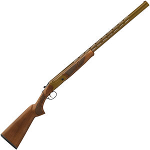 "Hatfield Field O/U Break Action Shotgun .410 Bore 28"" Double Barrel 3"" Chamber 2 Rounds FO Front Sight Walnut Stock Burnt Bronze Finish"