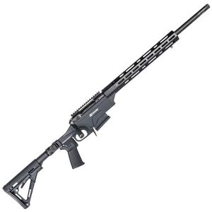 """Savage 10 Ashbury Precision Bolt Action Rifle .308 Win 24"""" Barrel 5 Rounds Collapsible Folding Stock Black"""