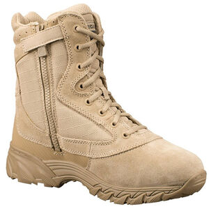 "Original SWAT Chase 9"" Tactical Side Zip Boot Size 8.5 Regular Tan 1312-TAN-8.5"