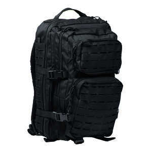 Mil-Tec Large Laser-Cut Assault Pack Black 14002702