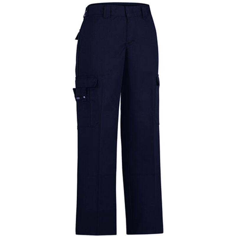 Dickies Women's Flex Comfort Waist EMT Pant Size 22 Unhemmed Inseam Midnight Blue FPW2377MD