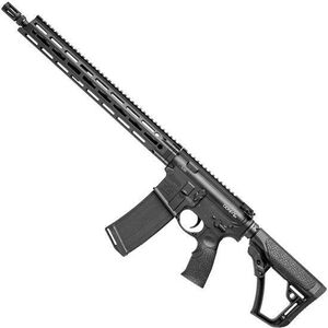 "Daniel Defense DDM4v7LW AR-15 Semi Auto Rifle 5.56 NATO 16"" Barrel 30 Rounds M-LOK Handguard Collapsible Stock Black"
