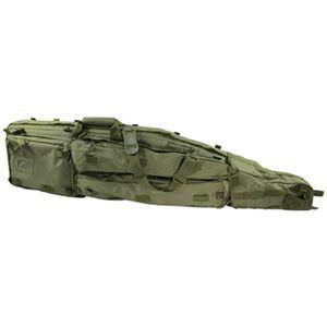 """VISM Double Rifle Drag Bag 46"""" PVC Green CVDB2912G"""
