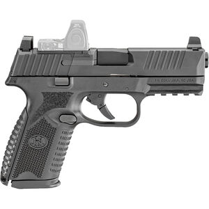 "FN America FN 509 Midsize MRD 9mm Luger Semi Auto Pistol 4"" Barrel 10 Rounds Red Dot Compatible Ambidextrous Controls Polymer Frame Black"