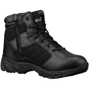 Smith & Wesson Footwear Breach 2.0 Side Zip Boot Mens 7.5 Regular Black