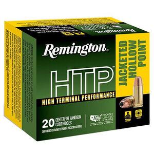 Remington HTP 9mm Luger Ammunition 20 Rounds 147 Grain JHP 990 fps