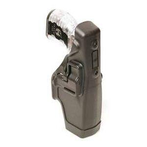 BLACKHAWK! Taser X26 Serpa Duty Holster Black Basketweave 44H015BW-L