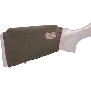 """Beartooth Products Comb Raising Kit 2.0 with No Ammo Loops 7"""" Long Fits Most Rifle and Shotgun Stocks Neoprene Brown"""