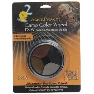 Dead Down Wind 4 Color Face Camo Make Up Wheel