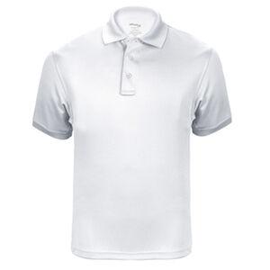 Elbeco UFX Tactical Polo Men's Short Sleeve Polo XL 100% Polyester Swiss Pique Knit White