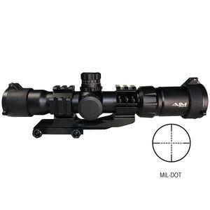AIM Sports 1.5-4X30 TRI ILL. CQB MIL-DOT JTMR1