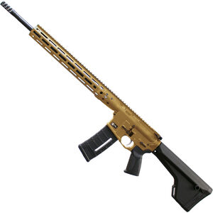 "LWRC DI .224 Valkyrie Semi Auto Rifle 20"" Barrel 30 Rounds M-LOK Rail Magpul Stock FDE"