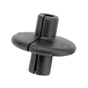 "Pine Ridge Archery XL Kisser Button-Slotted 11/16"" Black 1 Pack"