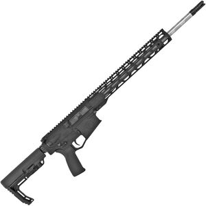 "Radical Firearms .308 Win AR-308 Semi Auto Rifle 20"" Barrel 20 Rounds 15"" Free Float M-LOK TMS Handguard MFT Minimalist Collapsible Stock Black"