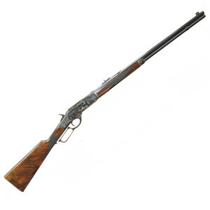 """Navy Arms 1873 Winchester Lever Action Rifle .357 Mag 20"""" Octagonal Barrel 10 Rounds Turnbull Color Case Hardened Receiver Walnut Stock Blued NTW73045"""