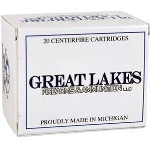 Great Lakes .450 Bushmaster Ammunition 20 Rounds 300 Grain Hornady XTP HP Bullet Remanufactured Ammunition
