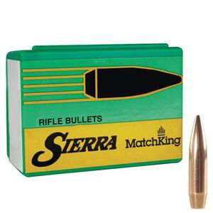 """Sierra 7mm Caliber .284"""" Diameter 130 Grain MatchKing Hollow Point Boat Tail Bullets 100 Count 1903"""