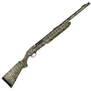 "Mossberg 935 Magnum Turkey 12 Gauge Semi Auto Shotgun 22"" Barrel 3.5"" Chamber Adjustable Fiber Optic Sight Synthetic Stock Mossy Oak Bottomland Camo Finish"