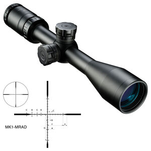 Nikon P-Tactical 3-9x40 Riflescope MK1-MRAD Reticle Fixed Parallax Matte Black