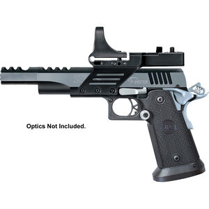 "Metro Arms SPS Vista Short Semi Auto Pistol 9mm Luger 5"" Barrel 21 Rounds Black Polymer Grips Black/Chrome Finish with Scope Mount SPVS9BC"