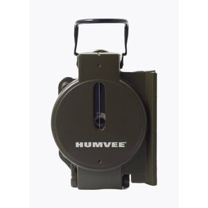 HUMVEE Military Style Compass, Olive Drab Metal Case (HMV-COMPASS-OD)