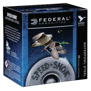 "Federal Speed Shok Waterfowl Steel 12 Gauge Ammunition 3"" T Steel Shot 1-1/8 oz 1550 fps"