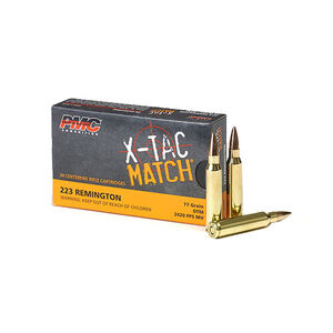PMC X-TAC .223 Rem 77 Grain OTM 20 Round Box