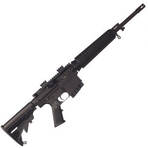 "Bushmaster 308 ORC Semi Auto Carbine .308 Win/7.62 NATO 16"" Chrome Lined Barrel 20 Rounds Flat Top Upper Collapsible Stock Black Finish 90702"
