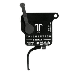 Trigger Tech Remington 700 Primary Drop In Replacement Trigger Right Hand/Bolt Release/Flat Lever PVD Black Finish