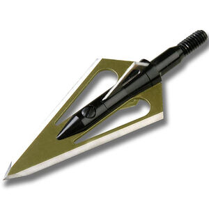 Magnus Broadheads Stinger Crossbow 4 Blade 100 Grain Broadhead 3 Pack