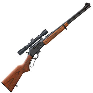 """Marlin 336W Lever Action Rifle .30-30 Win 20"""" Barrel 6 Rounds Laminate Stock Matte Blued Mounted Scope 70521"""