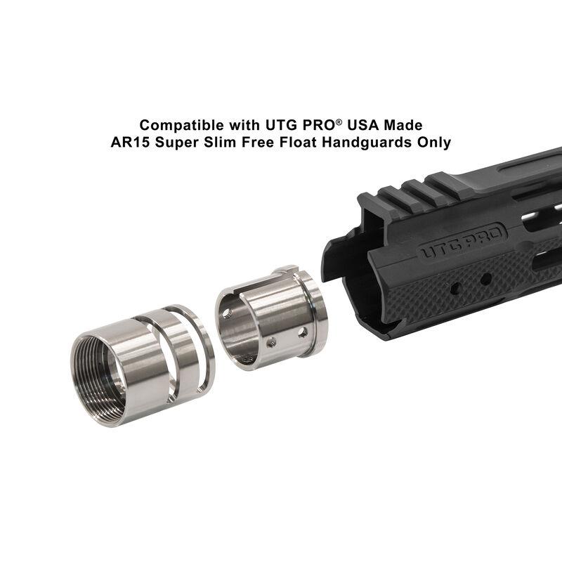 UTG PRO AR15 Super Slim Free Float Titanium Barrel Nut