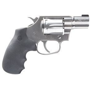 """Colt Cobra .38 Special +P Double Action Revolver 2"""" Barrel 6 Round Cylinder Bead Front Sight Trench Rear Matte Brushed Stainless Steel Finish"""