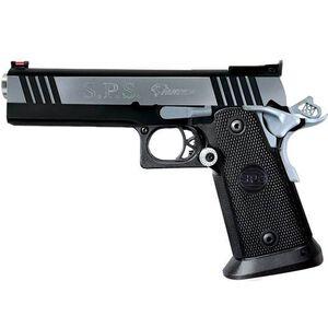 "Metroarms SPS Pantera Semi Automatic Pistol .45 ACP 5"" Ramped Match Grade Bull Barrel 12 Rounds Polymer Grips Black Chrome Finish SPP45BC"