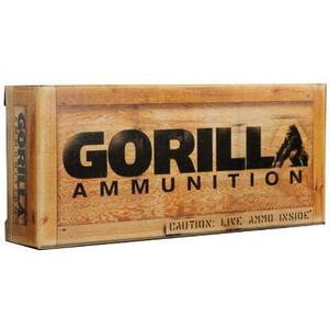 Gorilla Match .308 Win Ammunition 20 Rounds 165 Grain Sierra GameKing HPBT 2700 fps