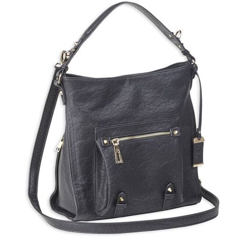 Bulldog Cases  ANNA  Hobo Style Purse With Concealed Holster in Black