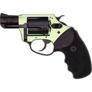 "Charter Arms Undercover Lite Revolver .38 Special +P 2"" Barrel 5 Round Black Rubber Grip Aluminum Black Green Finish 53844"
