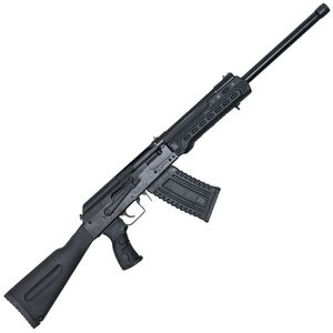 "Kalashnikov USA KS-12 Semi Auto Shotgun 12 Gauge 18.25"" Barrel 3"" Chamber 5 Rounds Fixed Sights Polymer Furniture Matte Black"