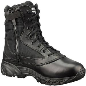 "Original S.W.A.T. Chase 9"" Tactical Side Zip Boot Nylon/Leather Size 15 Regular Black 1312-BLK-15"