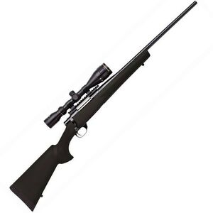 "Howa Gameking Bolt Action Rifle 6.5 Creedmoor 22"" Barrel 4 Rounds Black Synthetic Stock Nikko Stirling 3.5-10x44 Scope HGK62507"
