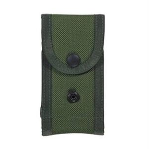 "Bianchi M1025 Double Pistol Magazine Pouch 2.25"" Belts Size 02 Cordura OD Green 14545"